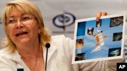 Luisa Ortega, fiscal general de Venezuela, acusa a EE.UU. de intentar financiar a la oposición venezolana.
