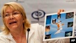 La fiscal general Luisa Ortega Díaz dijo que los responsables de las protestas deben permanecer detenidos.