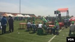 Shugaban Najeriya Goodluck Jonathan a Gombe, Fabrairu 2, 2015