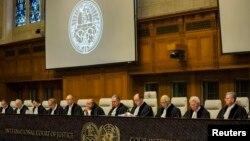 네덜란드 헤이그의 국제사법재판소. (자료사진)