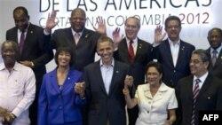 Участники шестого Саммита американских государств