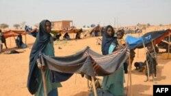 Wasu 'yan gudun hijiran yakin Mali