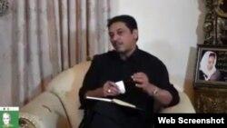 پاکستان پیپلز پارٹی کے سابق سینیٹر فیصل رضا عابدی ایک پرائیویٹ ٹی وی چینل میں ڈیم کے حوالے سے بات کر رہے ہیں۔