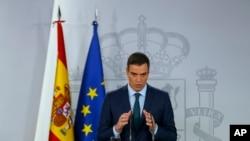 페드로 산체스 스페인 총리 (자료사진)