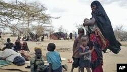Refugiados do campo de Dollo Ado na Etiopia, Julho 2011