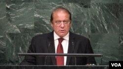Thủ tướng Pakistan Nawaz Sharif.