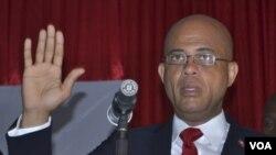 Michel Martelly ha prometido reconstruir el país y mejorar el nivel de vida de los haitianos en el campo.