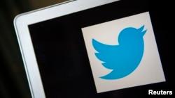 Biểu tượng của công ty mạng truyền thông xã hội Twitter.
