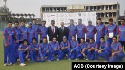 تیم ملی کرکت زیر سن ۱۹ سال افغانستان در لاهور پاکستان