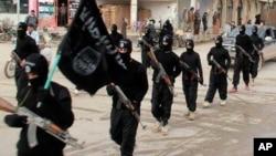 Sojojin ISIS. (File Photo)