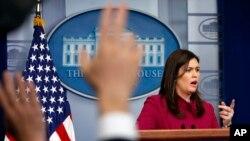 Msemaji wa White House Sarah Huckabee Sanders