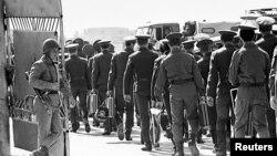 Советские войска покидают место дислокации в Кабуле. Афганистан, 1989 год