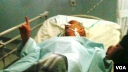 Yazıçı-publisist Rafiq Tağı xəstəxanada (21 noyabr 2011-ci il)