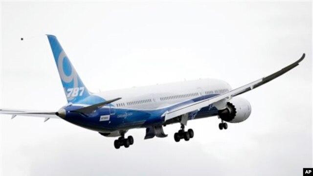 Prova e parë me sukses e Boing 787