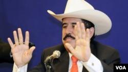 Zelaya retornó a Honduras en septiembre y ha estado refugiado en la embajada brasileña en Tegucigalpa.