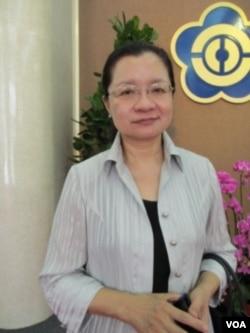 民进党立委 田秋堇(美国之音张永泰拍摄)