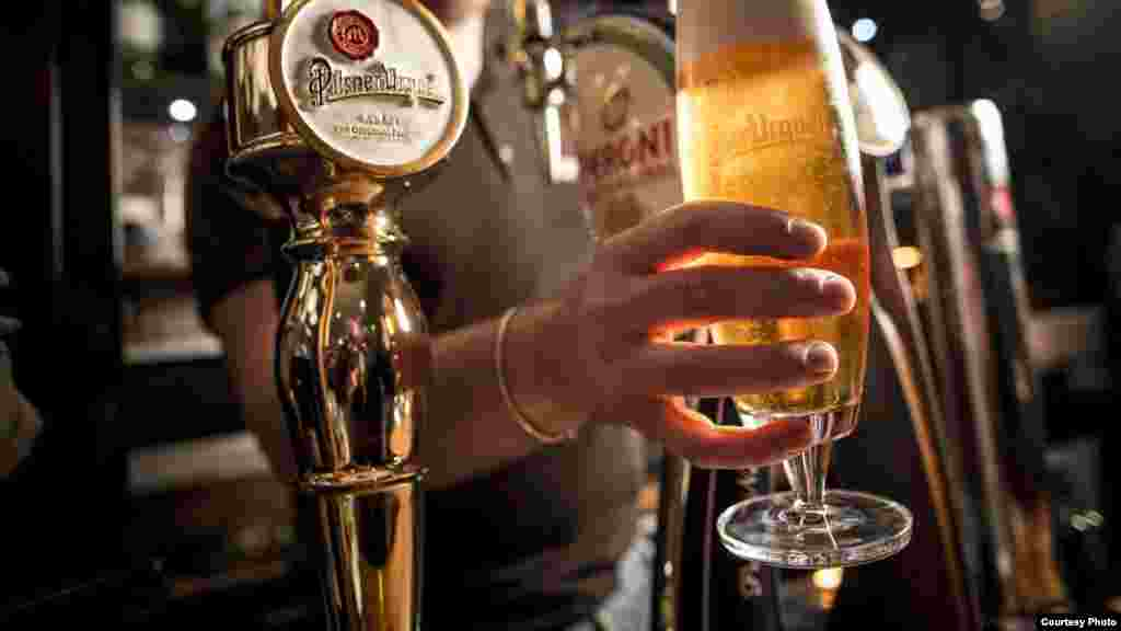 South Africans drink an average of 60 liters of beer each year, almost three times the global average. (Photo Credit: South African Breweries)