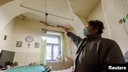 28 Aralık 2020 - Hırvatistan'da meydana gelen depremde evi zarar gören bir Hırvat