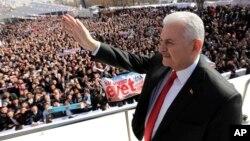 Премьер-министр Турции Бинали Йылдырым (архифное фото)