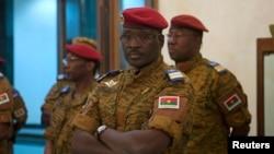 Le général Isaac Zida, ancien premier ministre du Burkina Faso, le 23 novembre 2014.