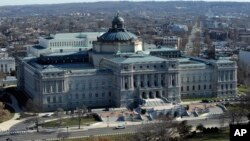 FILE - In this Dec. 19, 2013 file photo, the Library of Congress is seen in Washington.