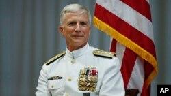El comandante del Comando Sur de Estados Unidos, el almirante Craig Faller, conversó con la Voz de América sobre la crisis en Venezuela.