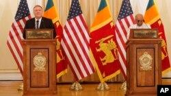 Держсекретар США Помпео та міністр закордонних справ Шрі-Ланки Дінеш Гунавардена