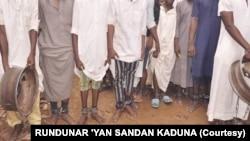 Wadanda 'yan sanda suka ceto a wata makarantar Islamiya a Kaduna