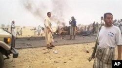2007년 7월 자살폭탄 공격 현장(자료사진)