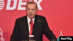 Shugaba Turkiyya Receb Tayyib Erdogan