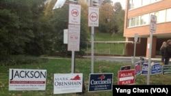 美国维吉尼亚州选民投票选举州长市长