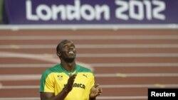 Pelari Jamaika Usain Bolt saat memenangkan medali emas pada Olimpiade London, yang mendapat 80.000 tweet per menit. (Foto: Dok)