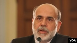 Los pronósticos de Ben Barnanke, presidente de la Reserva Federal, no fueron muy optimistas.