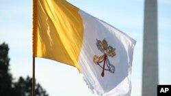 Le drapeau du Vatican