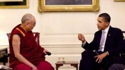چین به دیدار رییس جمهوری آمریکا با دالایی لاما اعتراض می کند