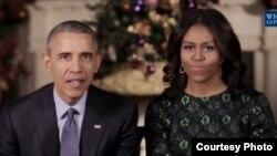Predsednik Barak Obama i prva dama Mišel Obama