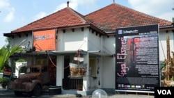 Sejumlah napi di LP Wirogunan Yogyakarta menggelar pameran di Galeri WirogunArt, Yogyakarta dari tanggal 5 hingga 25 Juli 2013 (VOA/Munarsih)