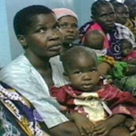 Malaria patients