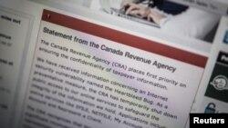 En Canadá, las autoridades informaron al público sobre la falla denominada 'The Heartbleed Bug'.