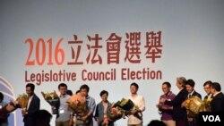 香港立法會選舉3名自決派候選人高票當選 (美國之音湯惠芸)
