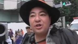 اعتراض ضد هسته ای در ژاپن در آستانه هالووين