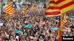 Каталонці вітають проголошення незалежності