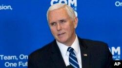 Phó Tổng thống Mike Pence phát biểu trước các nhà ngoại giao Mỹ