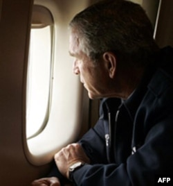 Fotografija iznad Nju Orleansa, koja je bivšem predsedniku Bušu nanela dosta štete