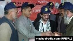 Jalalabad:Polio vaccination in Jalalabad