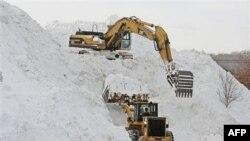 Čišćenje snega u Masačusetsu