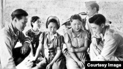 1944년 버마로 끌려갔던 한국인 위안부 모습. (자료사진)