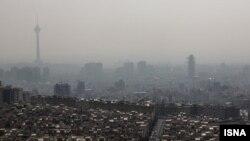 آلودگی هوا در تهران