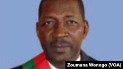 Alassane Sakandé élu nouveau président de l'assemblée nationale burkinabè, 8 septembre 2017. (VOA/Zoumana Wonogo)