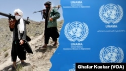UNAMA and Taliban